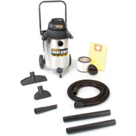 9626510 Shop-Vac; 10 Gallon Stainless Steel 6.5 Peak HP Wet Dry Vacuum - 9626510
