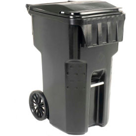 9956060F-B52 Otto Mobile Trash Container, 95 Gallon Black - 9956060F-B52