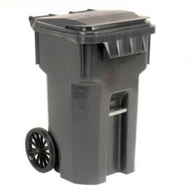6955050F-B43 Otto Mobile Trash Container, 65 Galllon Gray - 6955050F-B43