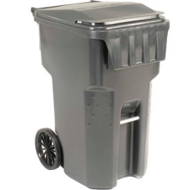 9955050F-B69 Otto Mobile Trash Container, 95 Gallon Gray - 9955050F-B69