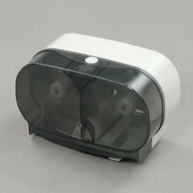 "RD032101 Twin Toilet Roll Dispenser for Standard 5"" Rolls - Horizontal"