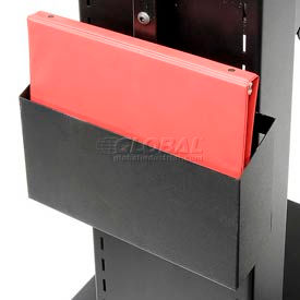 B122 Newcastle Systems B122 Binder Holder For NB & PC Series Workstations