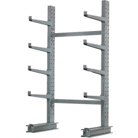 "SM8L Cantilever Rack Single Sided, Starter Unit Medium Duty (1000 Series), 48""W  x 33""D 8H, 5300 Lbs Cap"