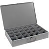 102-95 Durham Steel Scoop Compartment Box 102-95 - 24 Compartments 18 x 12 x 3