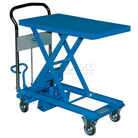 L-150 Southworth Dandy Lift L-150 Mobile Scissor Lift Table 330 Lb. Capacity