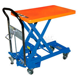 L-250 Southworth Dandy Lift L-250 Mobile Scissor Lift Table 550 Lb. Capacity