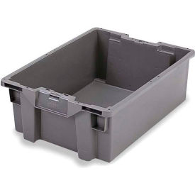 GS6040-13 ORBIS Stack-N-Nest Pallet Container GS6040-13 - 23-5/8 x 15-3/4 x 5-1/4 Gray