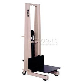 "PS-2480 Beech; Compact Foot Pedal Operated Work Positioner PS-2480 80"" Lift 1000 Lb. Cap."