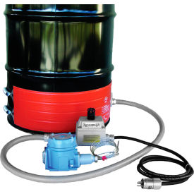 DHCX251300T4A BriskHeat; 55 Gallon Hazardous Area Drum Heater - 240V, T4A Rated