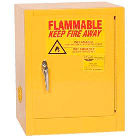 1904 Eagle Compact Flammable Cabinet - Manual Close Door 4 Gallon