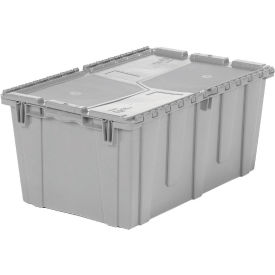 FP243M-GY ORBIS Flipak; Distribution Container FP243M - 26-7/8-17 x 12 Gray
