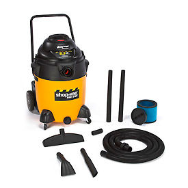 9626710 Shop-Vac; 24 Gallon 6.5 Peak HP Wet Dry Vacuum with Handle - 9626710