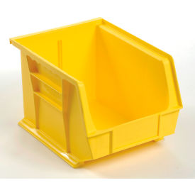 QUS239YL** Global; Plastic Storage Bin - Parts Storage Bin 8-1/4 x 10-3/4 x 7, Yellow