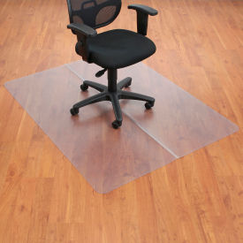 "130221 Office Chair Mat for Hard Floor - 46""W x 60""L - Straight Edge"