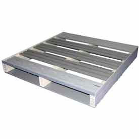 5000103 Rackable Extruded Plastic Pallet Lipped 36x36 2-Way Entry 1500 Lb Fork Capacity