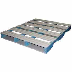 5000114 Rackable Extruded Plastic Pallet 48x40 Four-Way Entry 1500 Lb Fork Capacity
