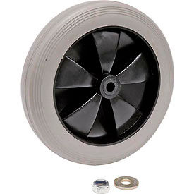 "RP9039 Replacement 8"" Rear Wheel for Janitor Cart (Models 603574, 603590)"