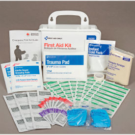 06090 Global Best Value First Aid Kit, 25-Person, Plastic