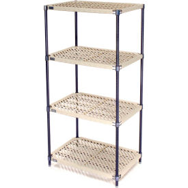 331448N Vented Plastic Shelving 30x21x54 Nexelon Finish