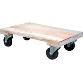 HDOS-1624-12 Vestil Hardwood Dolly HDOS-1624-12 Solid Deck 24x16 1200 Lb. Cap.