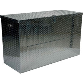 Aluminum Treadplate Tool Box APTS-3660-FD - w/Drop Gate, 60x24x36