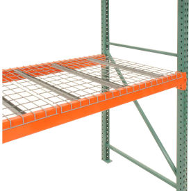 "D4858BA3A1* Pallet Rack Wire Decking 58""W x 48""D (2500 lbs cap) Gray"