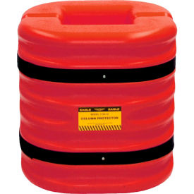 "eagle column protector, 6"" column opening, 24"" high, red, 1724-6-red Eagle Column Protector, 6"" Column Opening, 24"" High, Red, 1724-6-RED"
