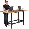 "695430 Standing Height Table with Power - 72""L x 36""W?x 42""H - MDF Top"