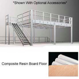 "9h pre-engineered mezzanine (12w x 16d) with resin board over 1-1/2"" corrugated steel deck 9H Pre-Engineered Mezzanine (12W x 16D) With Resin Board Over 1-1/2"" Corrugated Steel Deck"