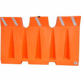 6L Traffic Barrier, Polyethylene, Orange