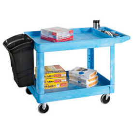 Rubbermaid Tray Shelf Cart- Special-Blue
