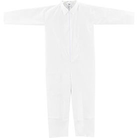 KC-MIC-60G-CVL-3XL Disposable Microporous Coverall, Open Wrists/Ankles, White, 3X-Large, 25/Case