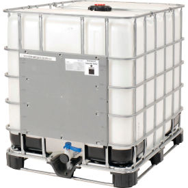 mauser ibc container 330 gallon un approved with composite metal pallet base Mauser IBC Container 330 Gallon UN Approved with Composite Metal Pallet Base