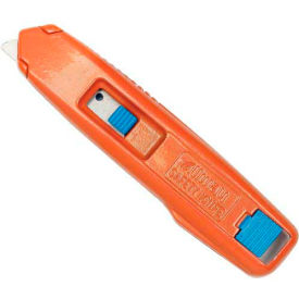 SRK-B6 Self-Retracting Aluminum Safety Box Cutter With 6 Blades