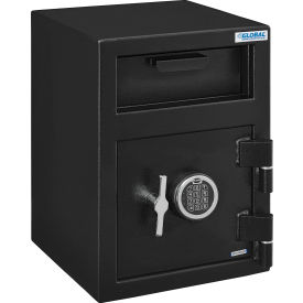 global industrial™ b-rate depository safe front loading, 1 door, digital lock, 14wx14dx20-1/4h Global Industrial™ B-Rate Depository Safe Front Loading, 1 Door, Digital Lock, 14Wx14Dx20-1/4H
