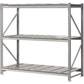"504350 Extra High Capacity Bulk Rack With Steel Decking 96""W x 24""D x 72""H Starter"