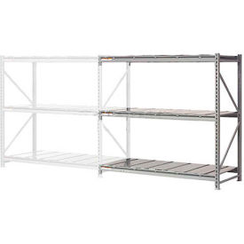 "504382 Extra High Capacity Bulk Rack With Steel Decking 60""W x 48""D x 96""H Add-On"
