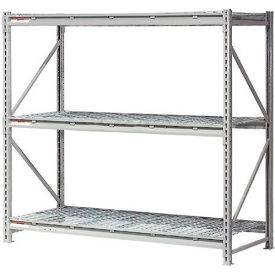 "504475 Extra High Capacity Bulk Rack With Wire Decking 60""W x 48""D x 96""H Starter"
