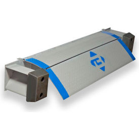 "bluff® ez-pull refrigerated truck edge of dock leveler 25ep78-r 78""w 25,000 lb."