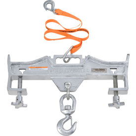 global industrial™ double fork forklift hook attachment - 4000 lb. cap. - swivel hook Global Industrial™ Swivel Hook Double Fork Forklift Hook Attachment, 4000 Lbs. Cap.