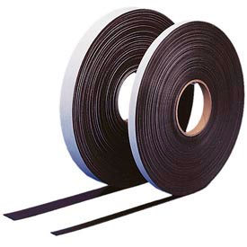 "SA100 Self Adhesive Magnetic Strip, 100 ft x 1"" H Roll"