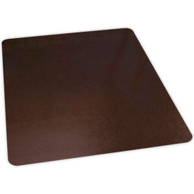 "119361 ES Robbins; Office Chair Mat for Hard Floor -  46"" x 60"" - Bronze -  Straight Edge"