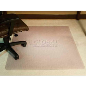 "122381 ES Robbins; Office Chair Mat for Carpet - 46""W x 60""L - Beveled Edge"