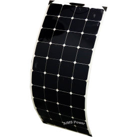aims power pv130slim, 130 watt flexible bendable slim solar panel monocrystalline AIMS Power PV130SLIM, 130 Watt Flexible Bendable Slim Solar Panel Monocrystalline