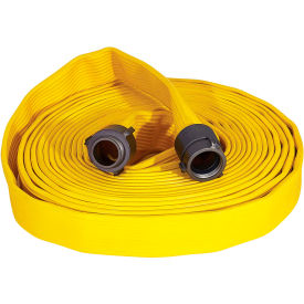 "armored textiles n56h25fx4100n jafx4 4 ply fire hose, 2-1/2"" x 100 ft, 330 psi, yellow Armored Textiles N56H25FX4100N JAFX4 4 Ply Fire Hose, 2-1/2"" X 100 Ft, 330 PSI, Yellow"