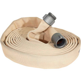 "armored textiles 52h15hdt100n jafline hd double jacket fire hose, 1-1/2"" x 100 ft, 400 psi, tan Armored Textiles 52H15HDT100N JAFLINE HD Double Jacket Fire Hose, 1-1/2"" X 100 Ft, 400 PSI, Tan"