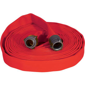 "armored textiles n50h175rr100n jafrib standard nitrile fire hose, 1-3/4"" x 100 ft, 300 psi, red Armored Textiles N50H175RR100N JAFRIB Standard Nitrile Fire Hose, 1-3/4"" X 100 Ft, 300 PSI, Red"
