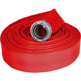 "armored textiles n50h3rr50n jafrib standard nitrile fire hose, 3"" x 50 ft, 300 psi, red Armored Textiles N50H3RR50N JAFRIB Standard Nitrile Fire Hose, 3"" X 50 Ft, 300 PSI, Red"