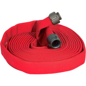 "armored textiles n52h15hdr100n jafline hd double jacket fire hose, 1-1/2"" x 100 ft, 400 psi, red Armored Textiles N52H15HDR100N JAFLINE HD Double Jacket Fire Hose, 1-1/2"" X 100 Ft, 400 PSI, Red"