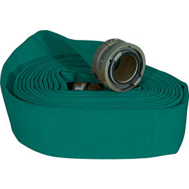 "armored textiles n52h25hdg50n jafline hd double jacket fire hose, 2-1/2"" x 50 ft, 400 psi, green Armored Textiles N52H25HDG50N JAFLINE HD Double Jacket Fire Hose, 2-1/2"" X 50 Ft, 400 PSI, Green"